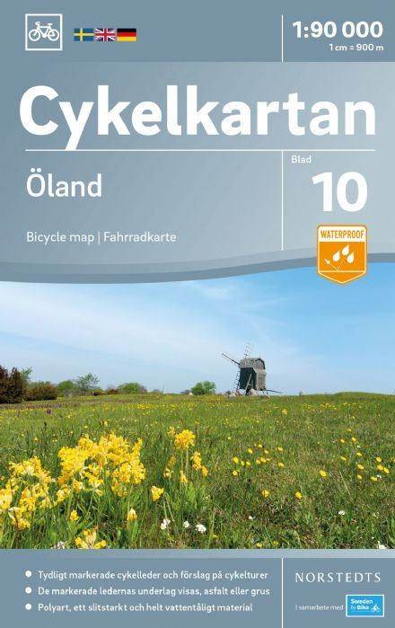 Sweden Cycling Map 10 - Öland